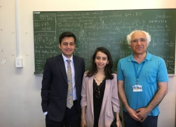 With Prof. Alireza, University of Cape Town, South Africa
