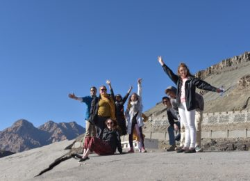 Strike a pose and absorb the Himalayan atmosphere!