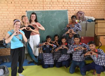 With lots of love all the way from Michigan to India! 'Literacy India' - a charitable organization working with under privileged women and children, focusing on their education, empowerment and employment.