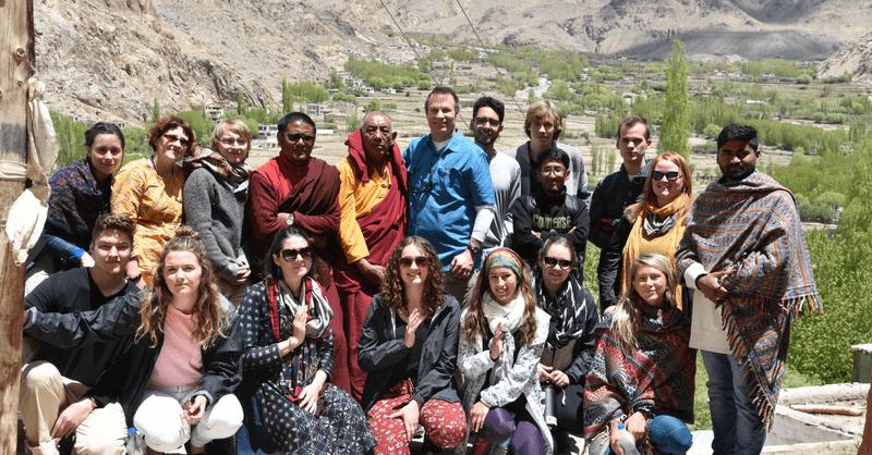 GII-Blog-at Buddhist Monastery Leh Ladakh
