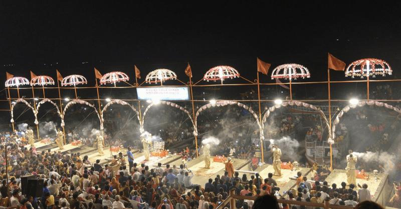 GII-Blog-Ganga Aarti-Varanasi