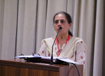 A lecture on 'The Caste System in India' by Ms Gilda Pereira at Sophia College for Women