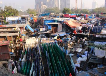 Dhobi Ghat, an open air laundromat in Mumbai