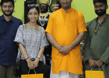 GO India Initiative team with Dr. Chinmaya Pandya, Pro Vice Chancellor – Dev Sankriti Vishwavidyalaya, Haridwar