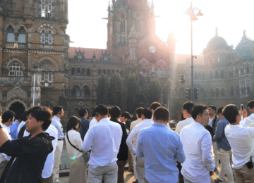 A visit to Chhatrapati Shivaji Terminus Station (formerly Victoria Terminus) which is a UNESCO World Heritage Site in Mumbai and is used by nearly 3 million people every day.