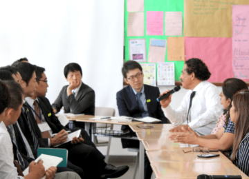 Group discussion with the Principal and faculty of EduBridge international School.